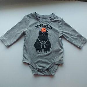 Under Armour gray infant onesie 3-6 months